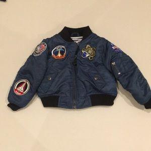 Up and Away NASA space jacket